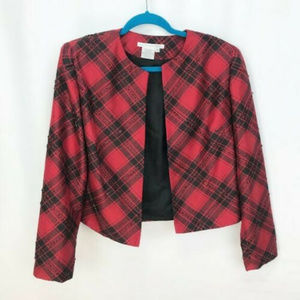 Maggy London Cropped Blazer Womens Size 8